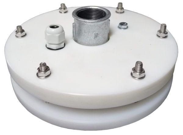 głowica zamykająca do studni głębinowej 160 mm z przyłączami ocynkowanymi