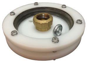 głowica studni głębinowej 160 mm z przyłączem itap