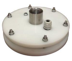 """głowica studni głębinowej 160 mm 1 1/2"""" z przyłączami ze stali nierdzewnej"""