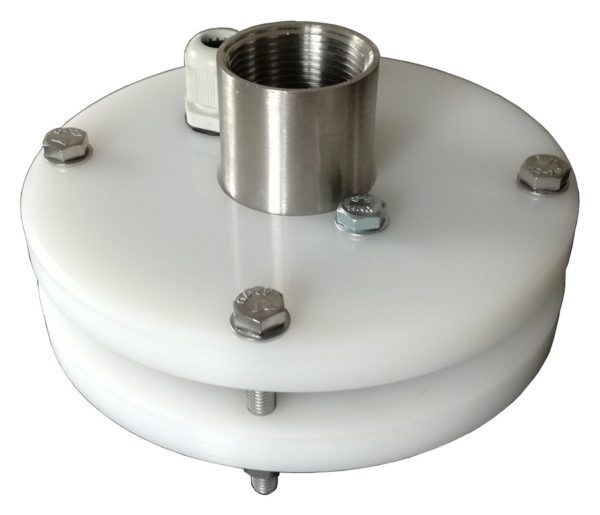 głowica studni głębinowej z przyłączami ze stali nierdzewnej