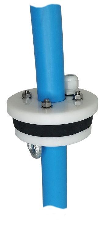 głowica studni 110 mm przelotowa na rurę PE 32 mm